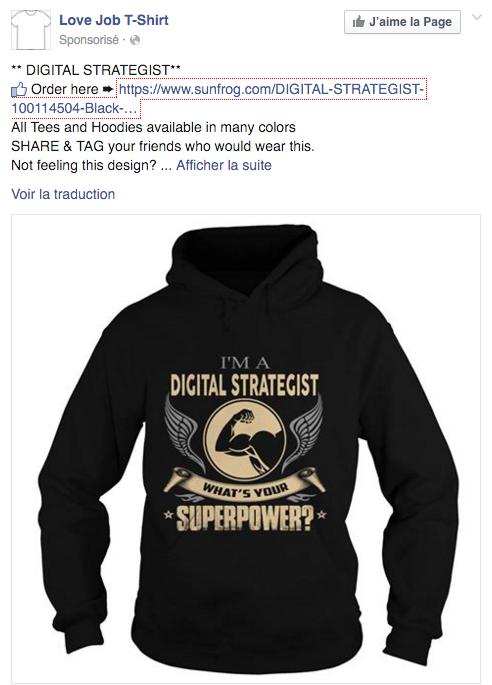 tshirt facebook