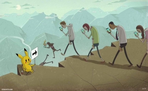 humour pokemon go