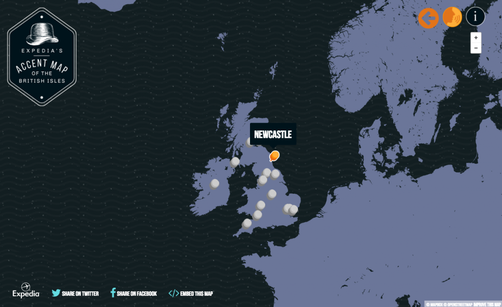 Accent Map Expedia exemple seo et rp