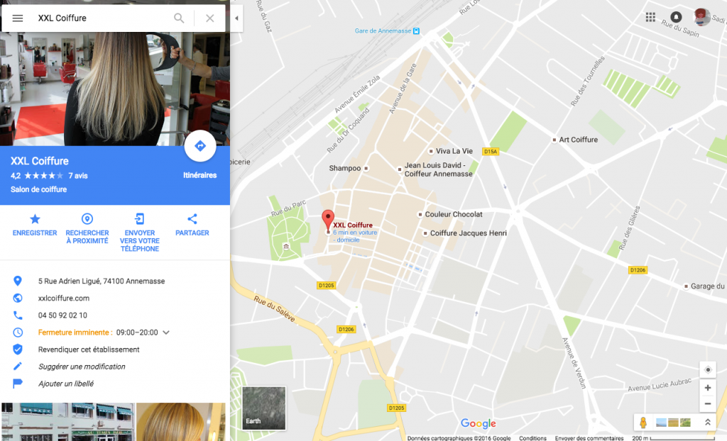 exemple google business maps